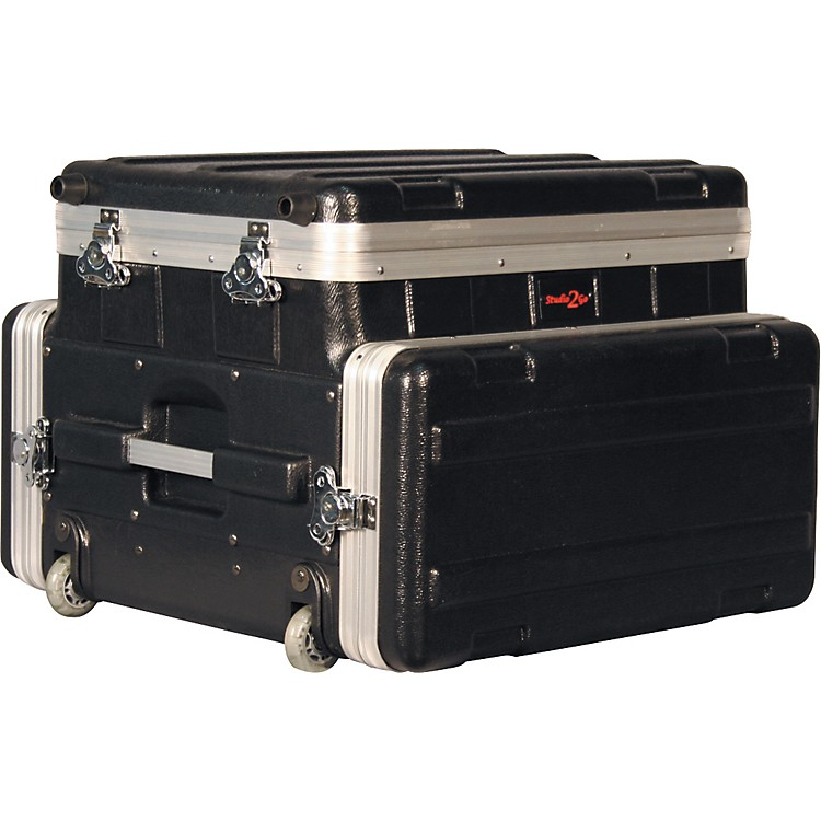 Gator GRC-Studio4Go-W Laptop or Mixer over 4U Rack Case  886830643989