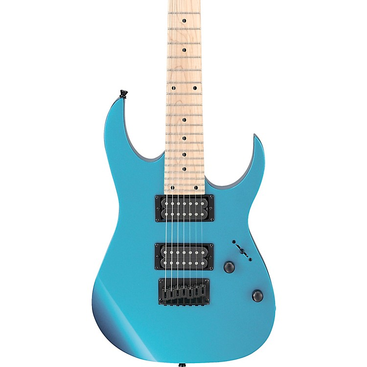 IbanezGRG7221M GRG Series 7-String Electric GuitarMetallic Light Blue