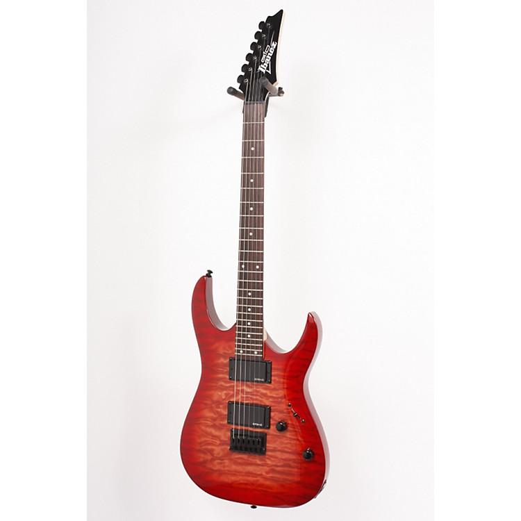 IbanezGRGA42QA Electric GuitarTransparent Red Burst886830545719