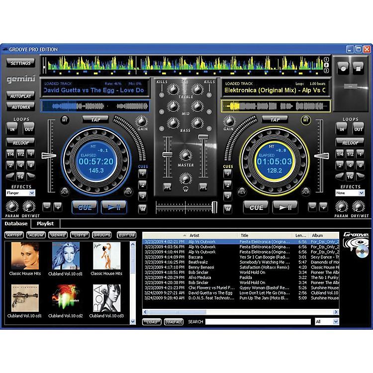 Gemini Groove PC Professional Mixing Software Windows