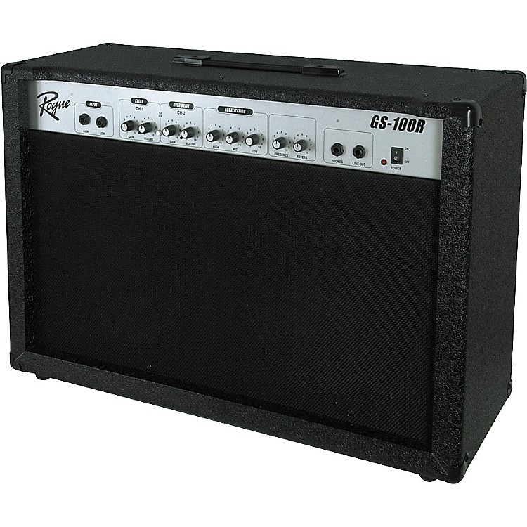 rogue gs 100r 2x12 100w guitar combo silver music123. Black Bedroom Furniture Sets. Home Design Ideas