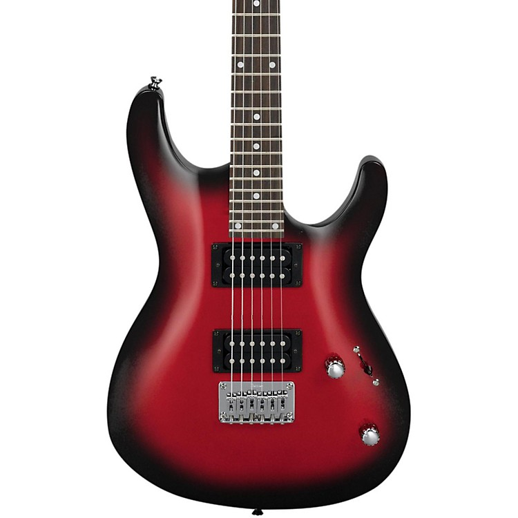 IbanezGS121 Electric GuitarTransparent Red Sunburst
