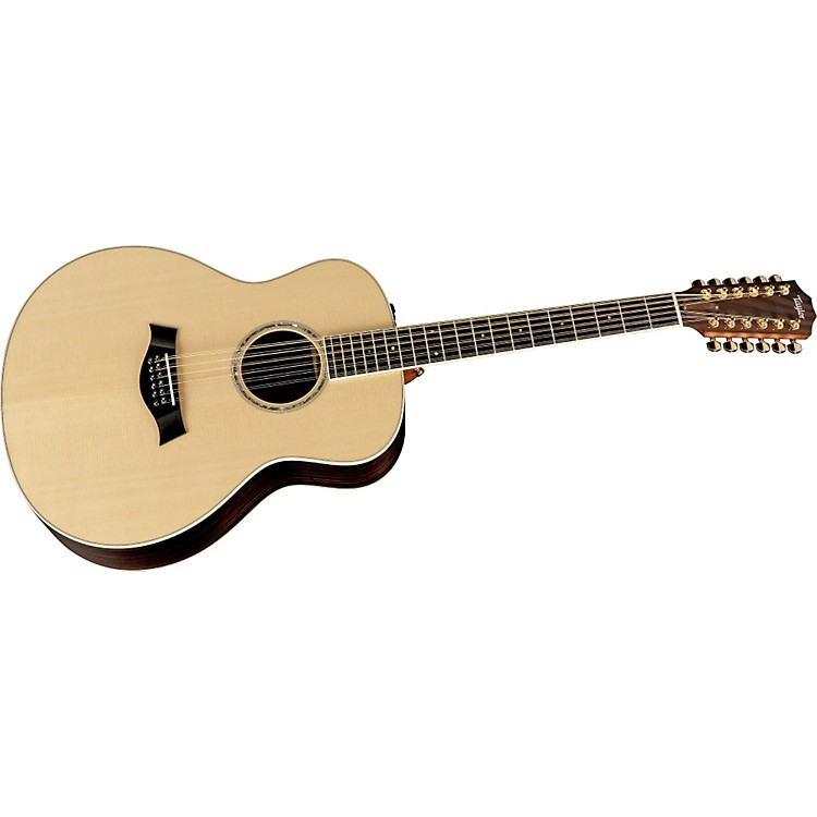 Taylor GS8-12 E Grand Symphony 12-String Acoustic-Electric Guitar Natural 886830723469
