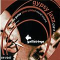 Galli Strings GSB11 GYPSY JAZZ Silver Plated Round Wound Medium Acoustic Guitar Strings  -thumbnail