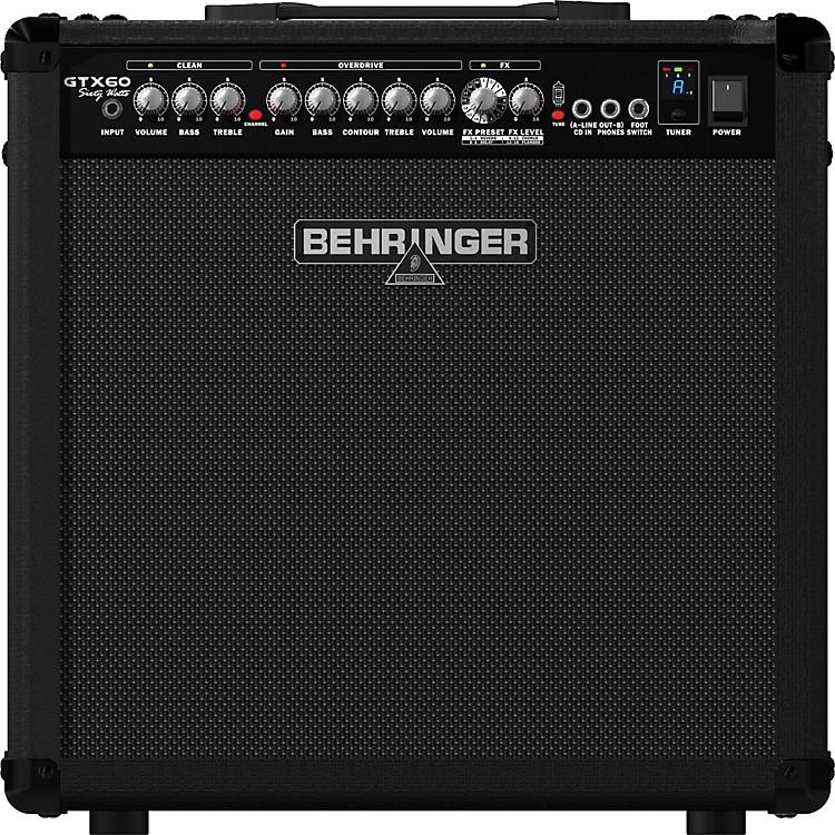 BehringerGTX60 60W 1x12 Guitar Combo Amplifier886830922510