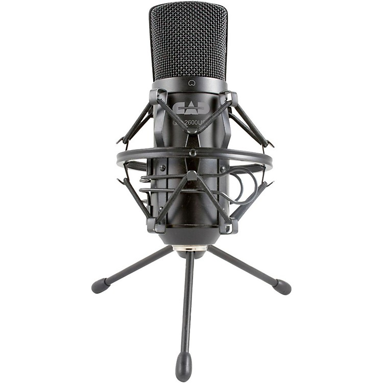 CADGXL2600USB Large Diaphragm USB Studio Condenser Microphone