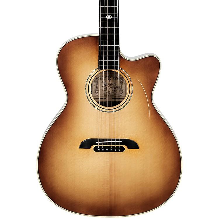 AlvarezGYM70CESHB Yairi Masterworks Grand Auditorium Acoustic/Electric GuitarShadow Burst