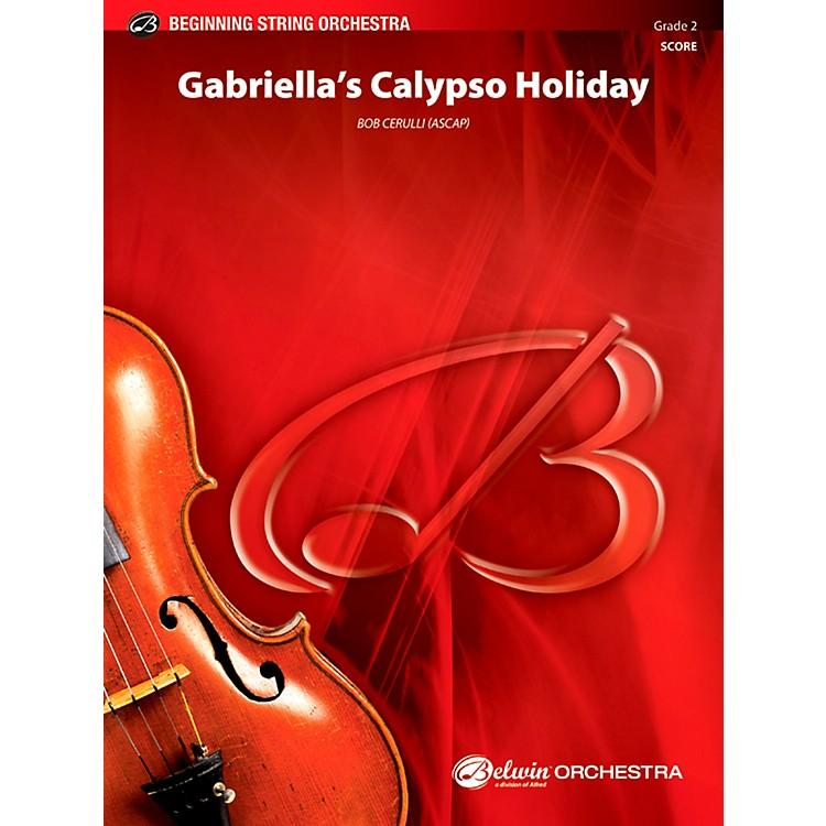 AlfredGabriella's Calypso Holiday String Orchestra Grade 2 Set