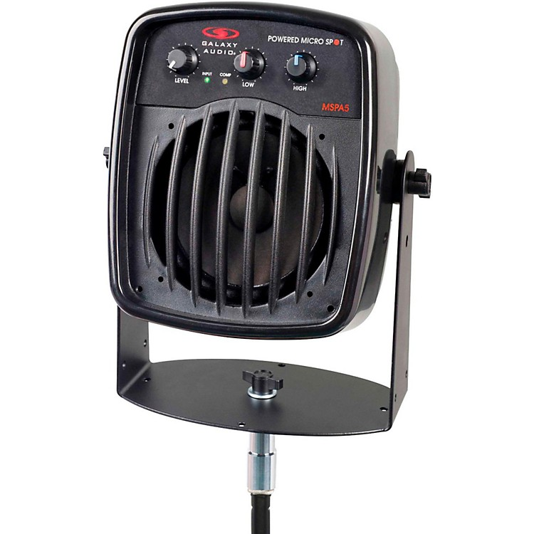 Galaxy Audio&nbsp;Galaxy Audio MSPA5 100W Powered Micro Spot  Compact Personal Hot Spot Stage Monitor<br>&nbsp;&nbsp;
