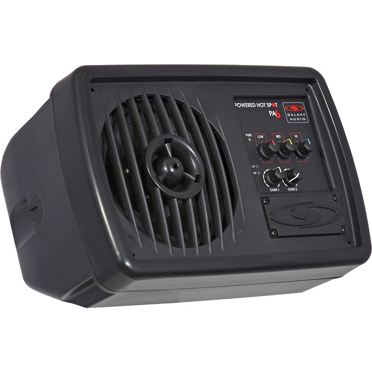 Galaxy Audio&nbsp;Galaxy Audio PA6S 170W Powered Compact Personal Hot Spot Stage Monitor<br>&nbsp;&nbsp;