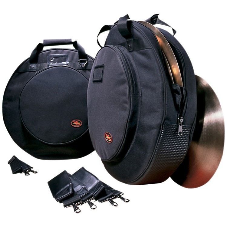 Humes & BergGalaxy Deluxe Cymbal Bag with Padded DividersBlack22 in.