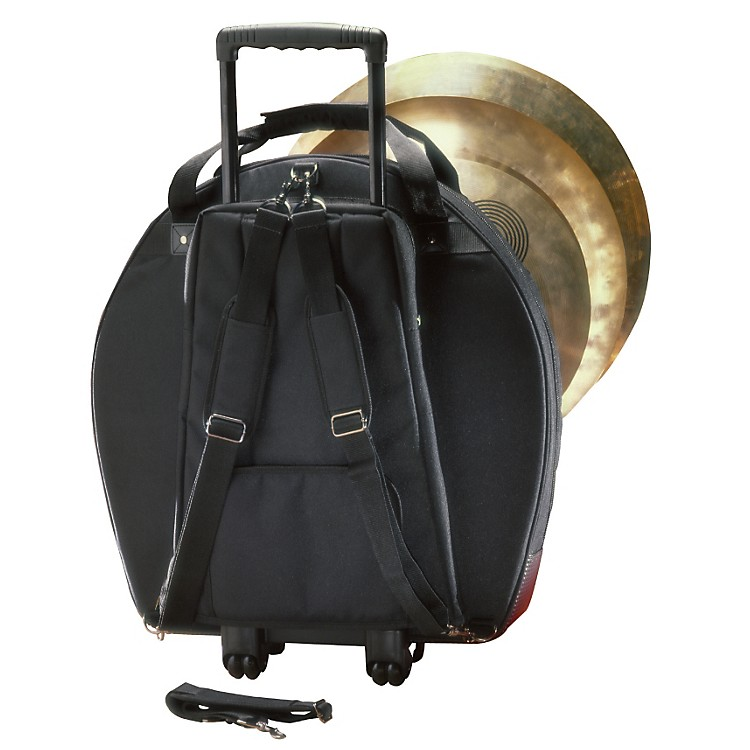 Humes & BergGalaxy Tilt-N-Pull Cymbal Bag with Padded DividersBlack