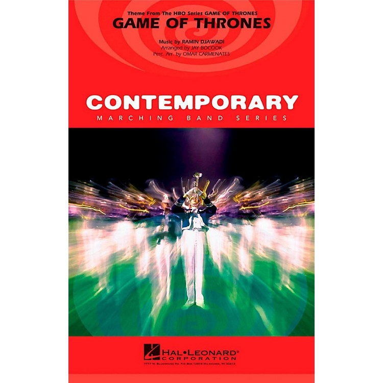 Hal LeonardGame Of Thrones - Pep Band/Marching Band Level 3