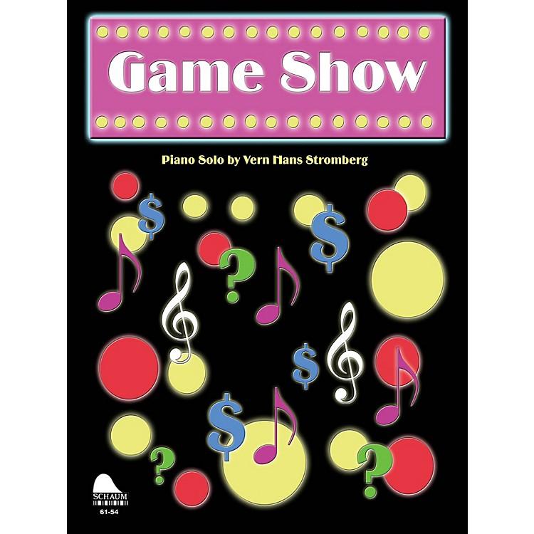 SCHAUMGame Show Educational Piano Series Softcover