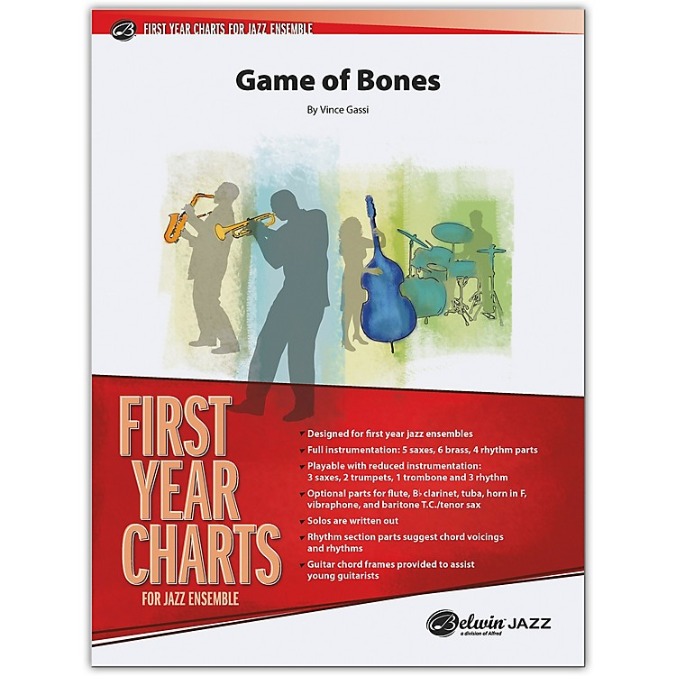 BELWIN Game of Bones Conductor Score 1 (Easy)
