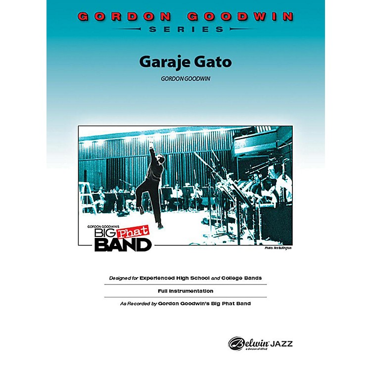 Alfred Garaje Gato Jazz Band Grade 6 Set