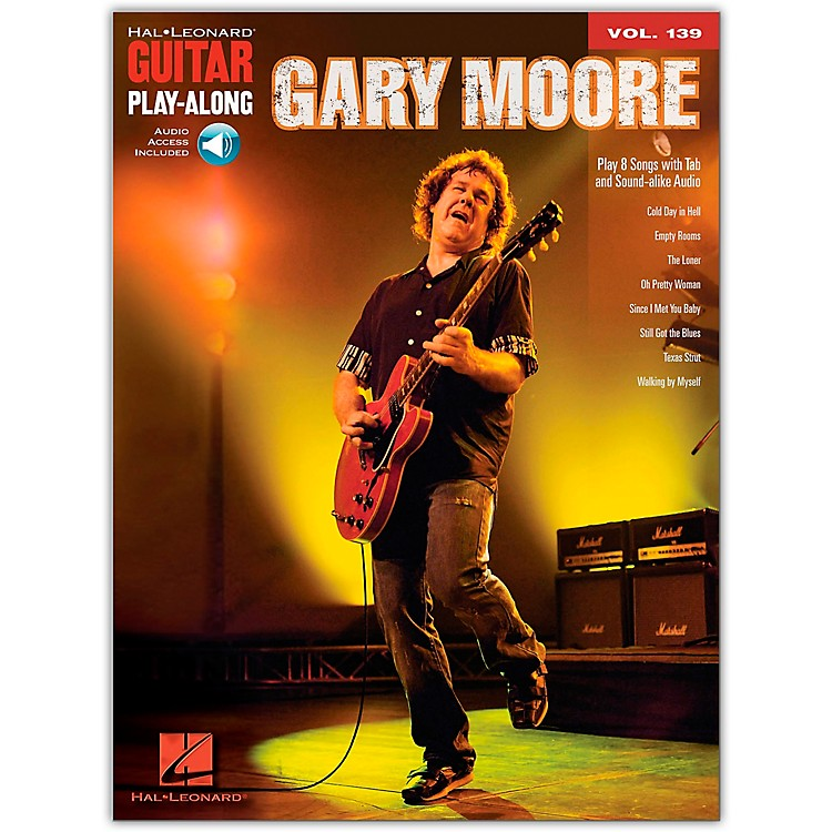 Hal LeonardGary Moore - Guitar Play-Along Volume 139 (Book/Online Audio)