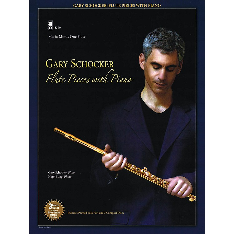 Music Minus OneGary Schocker - Flute Pieces with Piano Music Minus One Series Softcover with CD by Gary Schocker