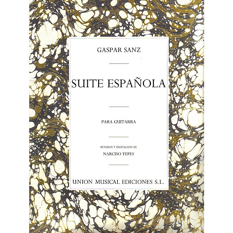 Music SalesGaspar Sanz: Suite Espanola Music Sales America Series