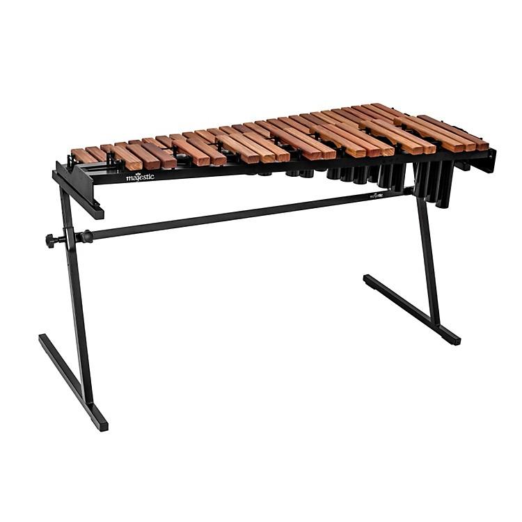 MajesticGateway Series 3.5 Octave Padauk Bar Practice Xylophone w/ Resonators
