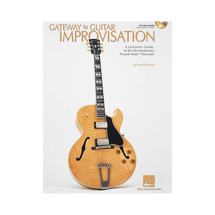 Hal LeonardGateway to Guitar Improvisation (Book/CD)