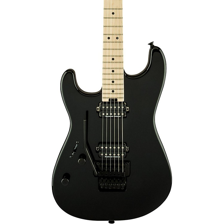 CharvelGauges Pro-Mod San Dimas Style 1 HH with Floyd Rose Left-Handed Electric GuitarGloss Black