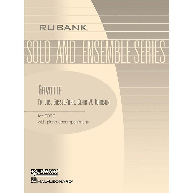 Rubank PublicationsGavotte (Oboe Solo with Piano - Grade 1.5 (opt. 2.5)) Rubank Solo/Ensemble Sheet Series