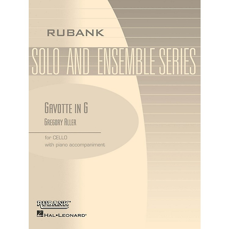 Rubank PublicationsGavotte in G Rubank Solo/Ensemble Sheet Series Softcover Arranged by G. Aller