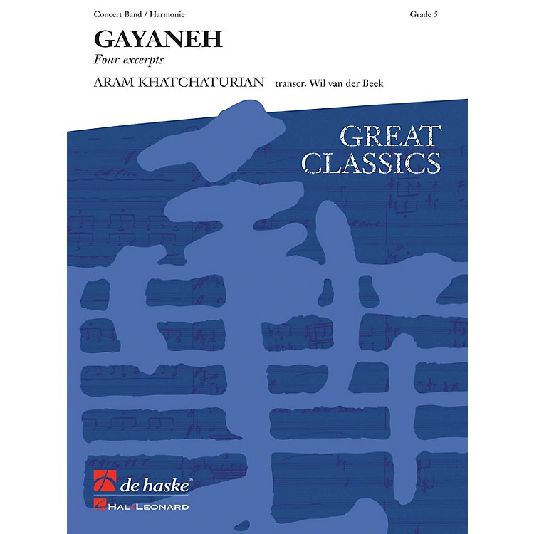 Hal Leonard Gayeneh Score Only Concert Band
