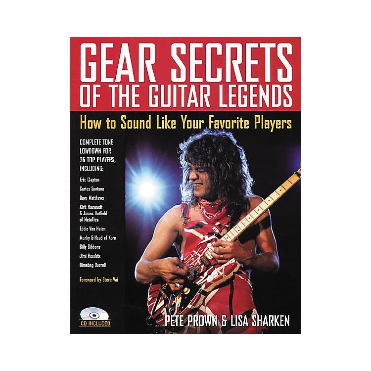 Backbeat BooksGear Secrets of the Guitar Legends (Book/CD)