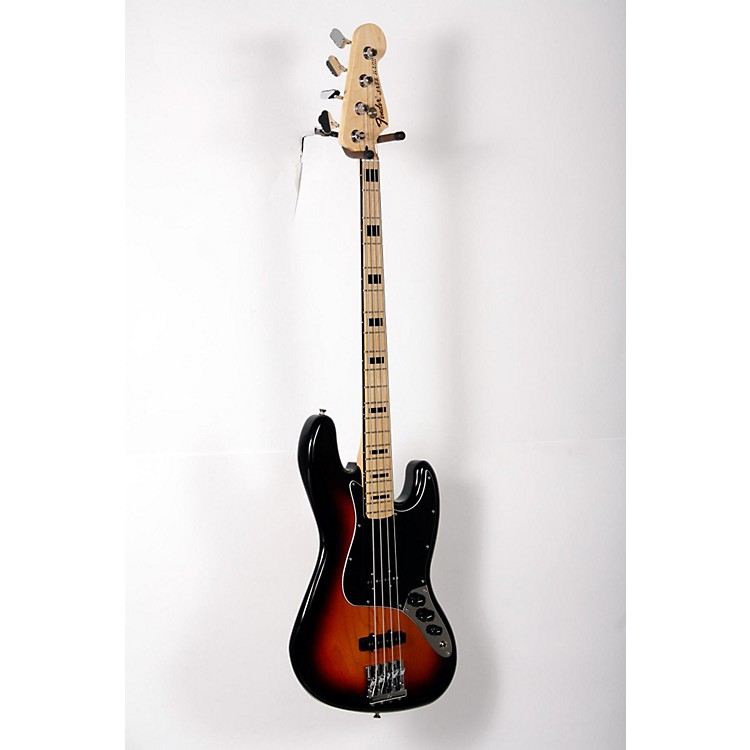 Fender Geddy Lee Signature Jazz Bass 3-Color Sunburst 888365897844