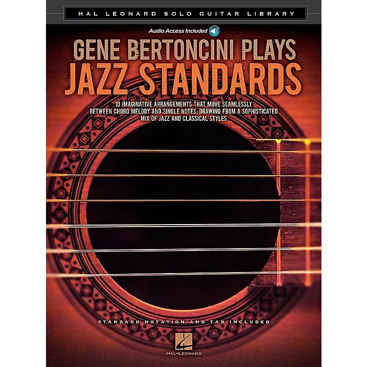Hal LeonardGene Bertoncini Plays Jazz Standards - Hal Leonard Solo Guitar Library Book/CD