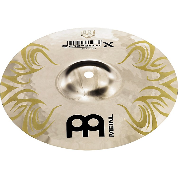 Meinl Generation X  FX Hats 10 in.