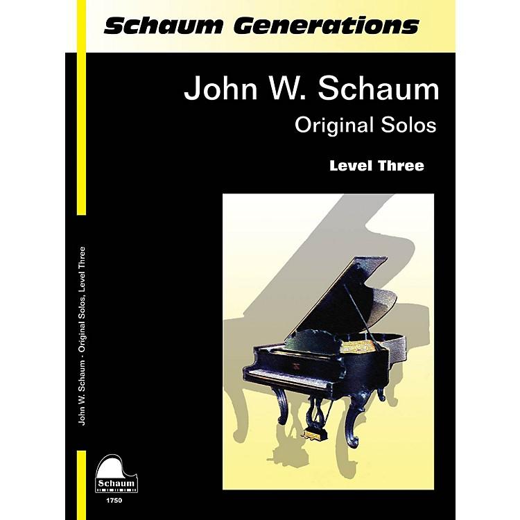 SCHAUMGenerations: John W. Schaum Original Solos Educational Piano Series Softcover Composed by John W. Schaum