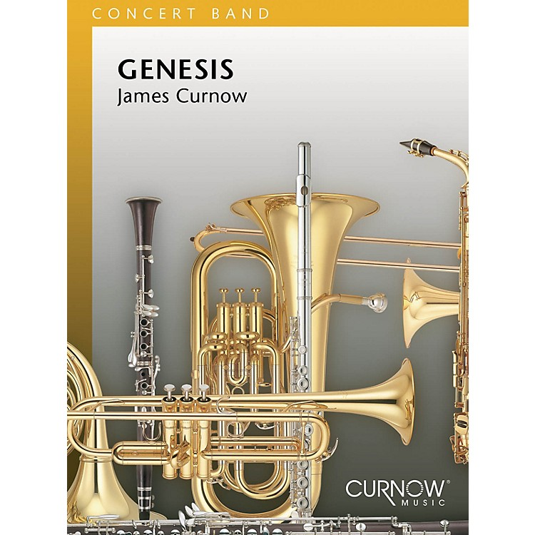 Curnow MusicGenesis (Grade 3 - Score Only) Concert Band Level 3 Composed by James Curnow