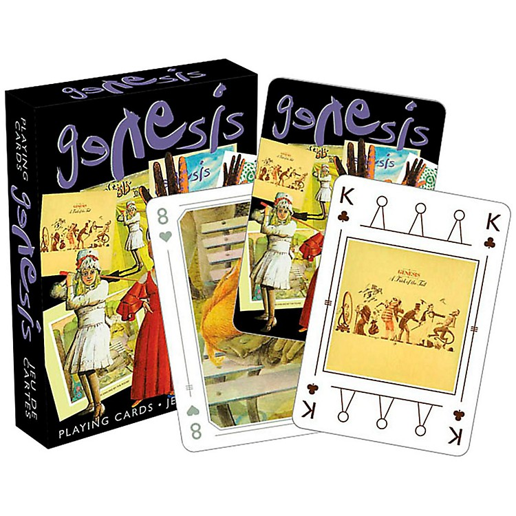 Hal Leonard Genesis Playing Cards