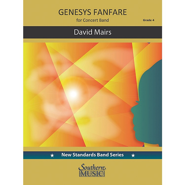 Southern Genesys Fanfare (Score and Parts) Concert Band Level 4 by David Mairs