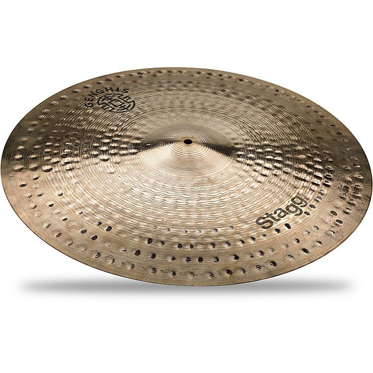 StaggGenghis Series Medium Ride Cymbal21 in.