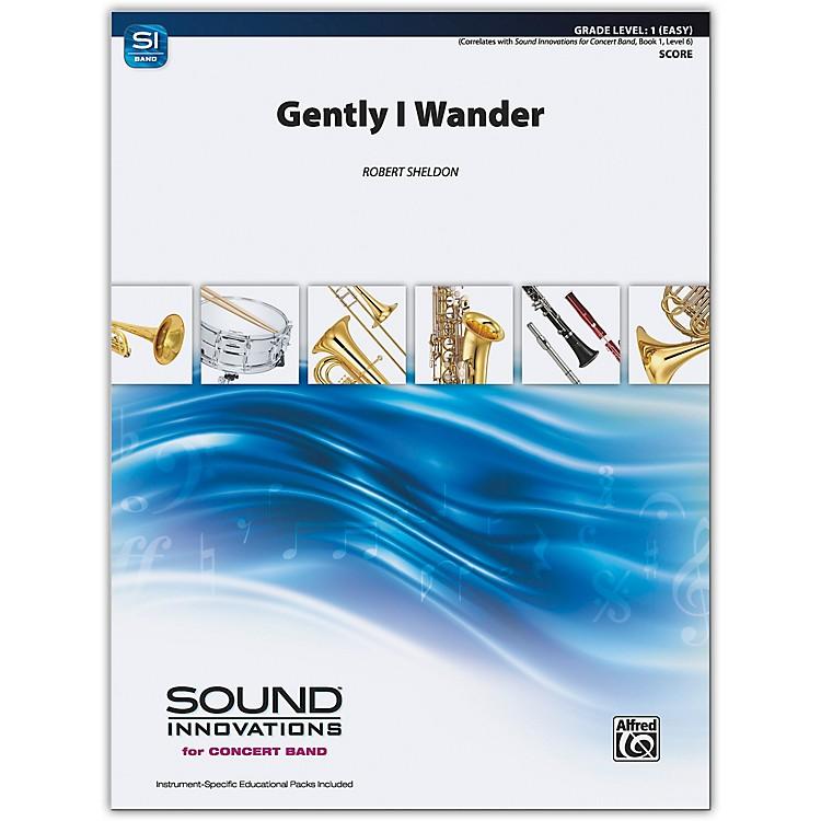 AlfredGently, I Wander Conductor Score 1 (Very Easy)