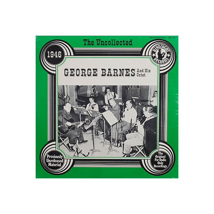 AllianceGeorge Barnes & Orchestra - Uncollected