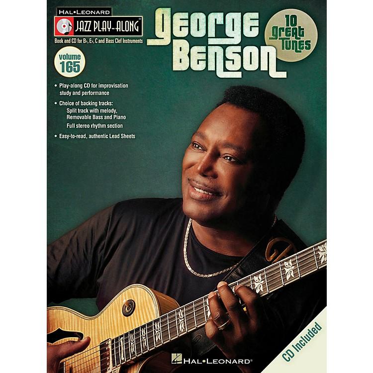 Hal LeonardGeorge Benson Jazz Play Along Series Volume 165 Book/CD