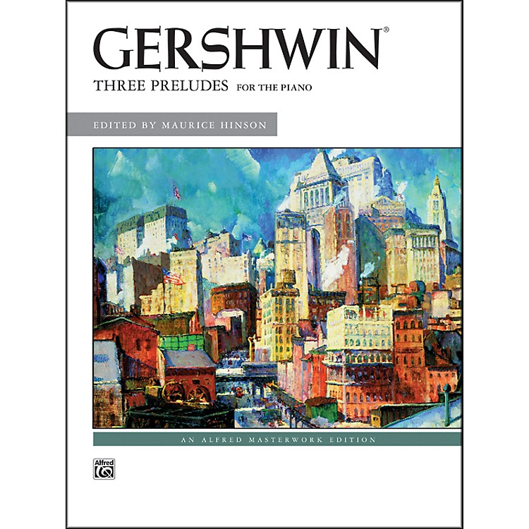 Alfred George Gershwin Three Preludes Piano Solos