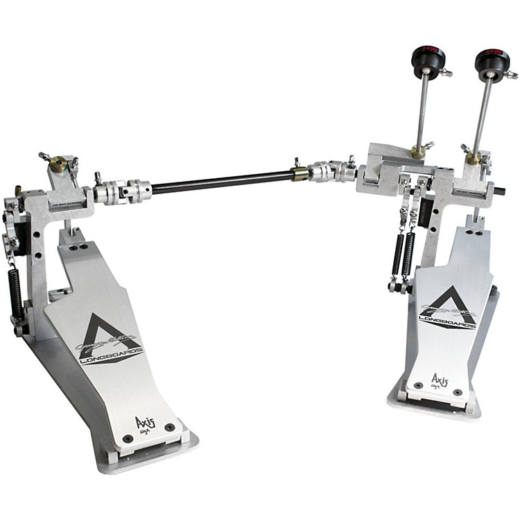 Axis George Kollias Signature Edition Double Bass Drum Pedal Silver