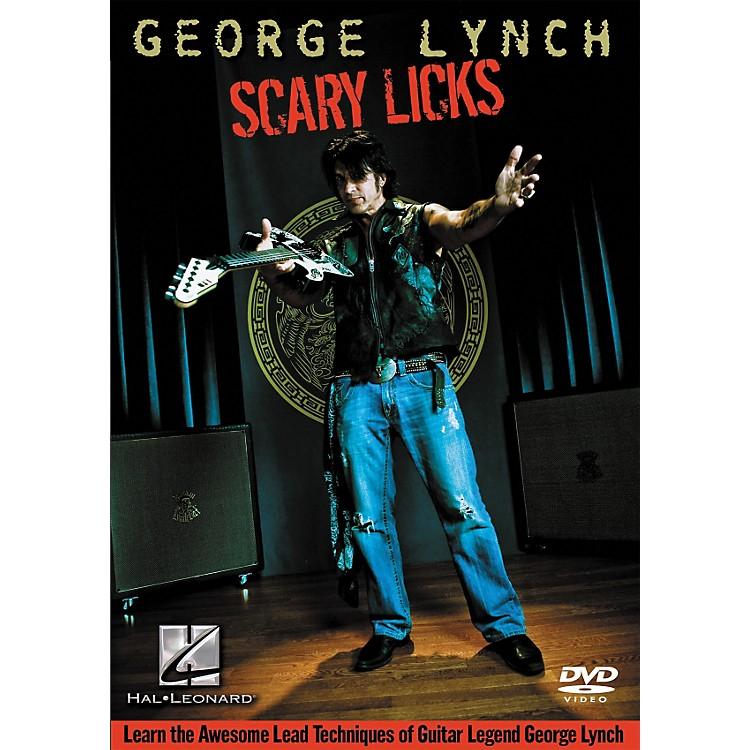 Hal LeonardGeorge Lynch - Scary Licks DVD