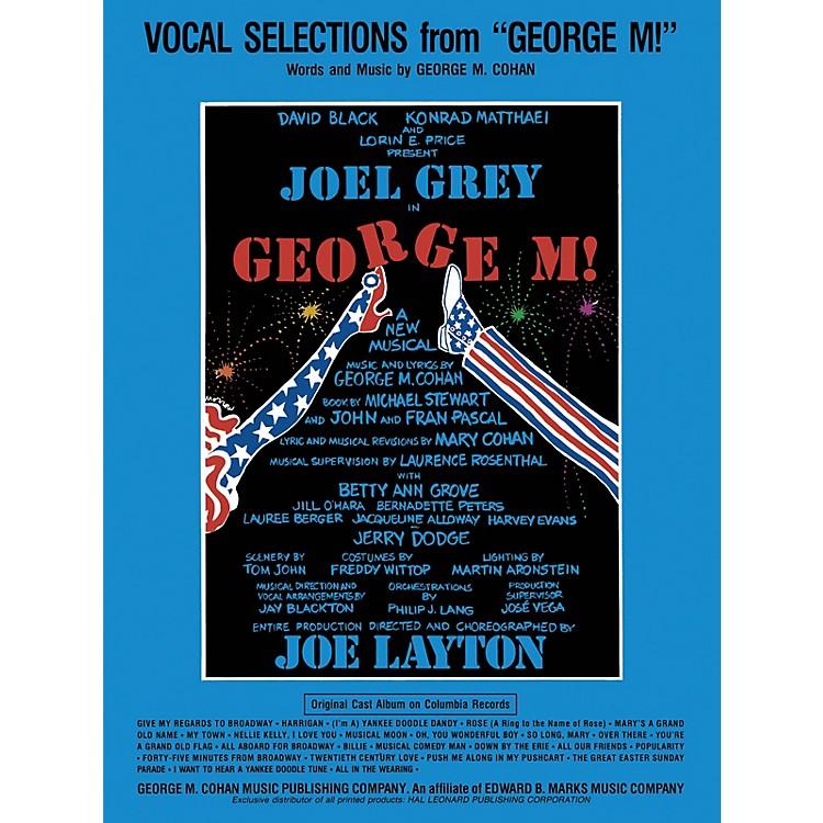 Hal LeonardGeorge M! Vocal Selections Series