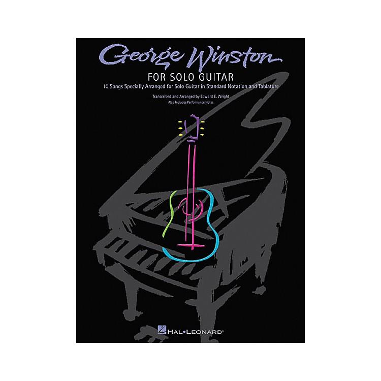 Hal LeonardGeorge Winston for Solo Guitar Tab Songbook