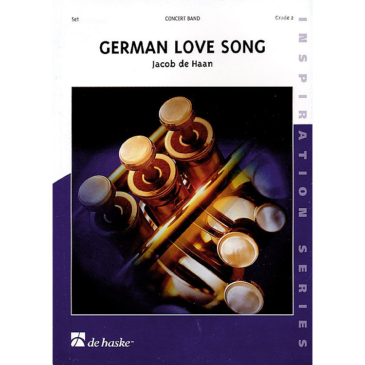De Haske Music German Love Song Concert Band Level 2 Composed by Jacob de Haan