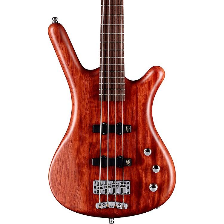 WarwickGerman Pro Series Corvette Bubinga Active Electric Bass GuitarNatural Satin