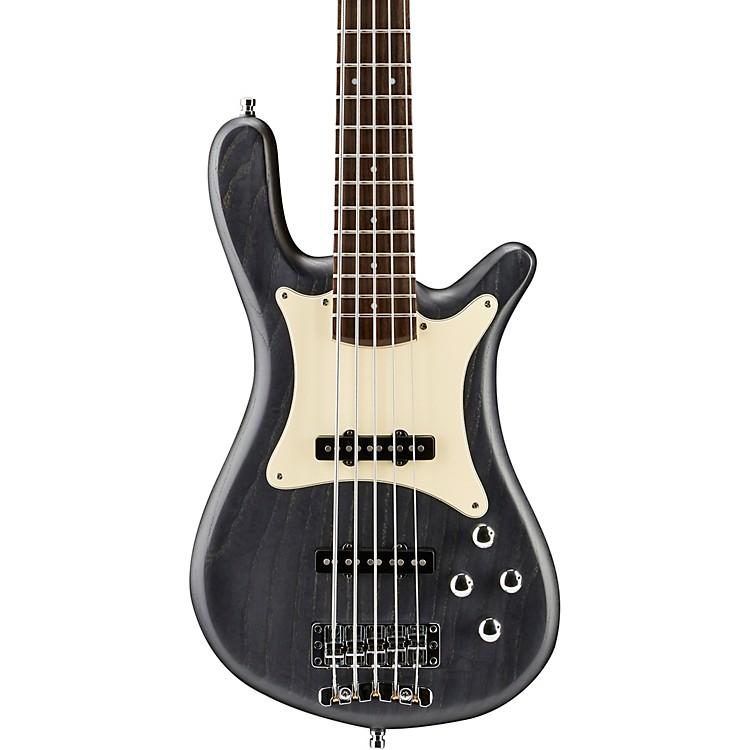 WarwickGerman Pro Series Streamer CV 5-String Electric Bass GuitarNirvana Black Oil