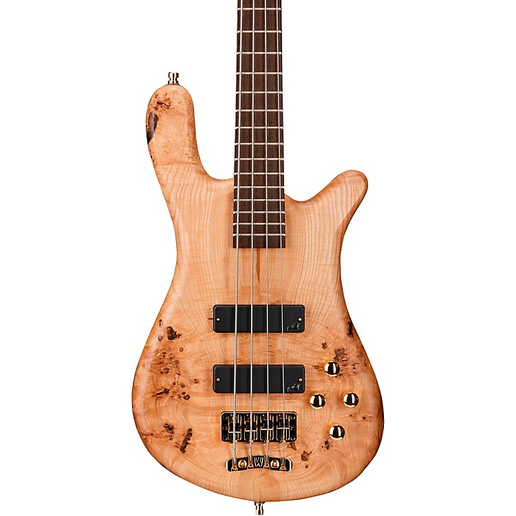 WarwickGerman Pro Series Streamer STI 4-String Bass Limited EditionTinted Natural Satin Transparent